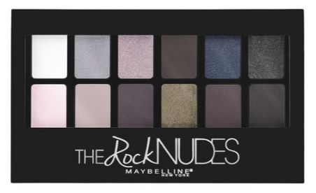The Rock Nudes Palette