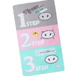 Pig-nose clear black head 3-step-kit
