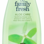 Family Fresh Aloe Care shover & shampoo