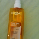 sublime glow sensational cleansing oil