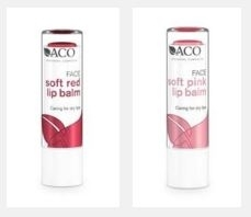 aco soft red lip balm