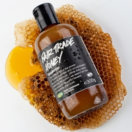 fair trade honey shampoo