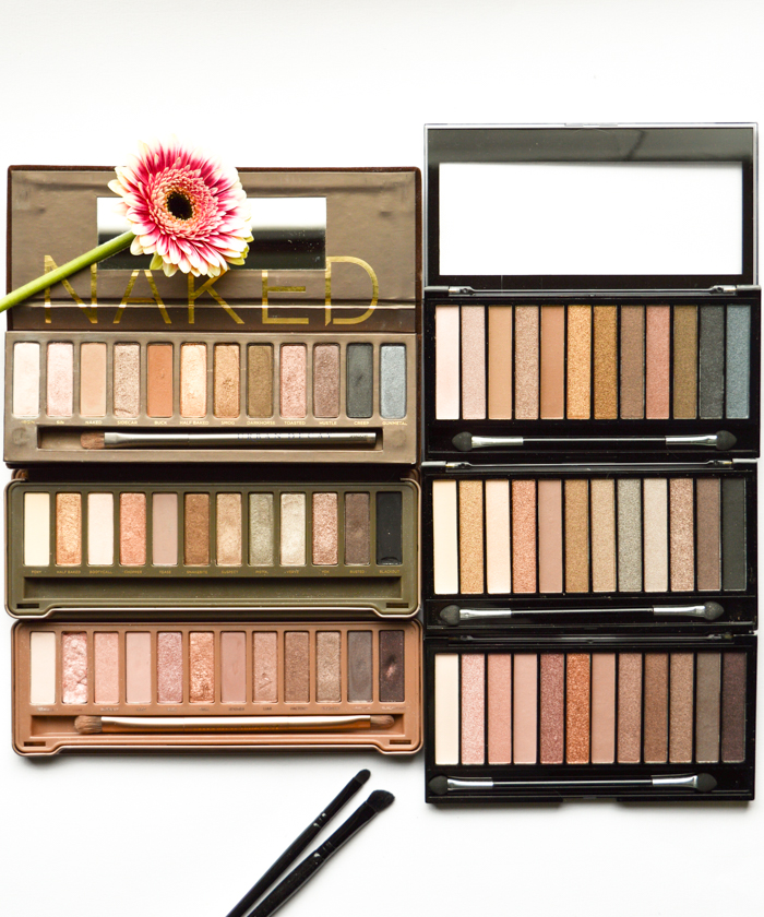 makeup revolution_urban decay_naked palette 2 3_dupes